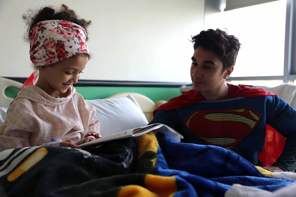 Superheroes in 57357 Children's Cancer Hospital 12