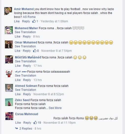 Egyptians comments on Mohamed Salah injury
