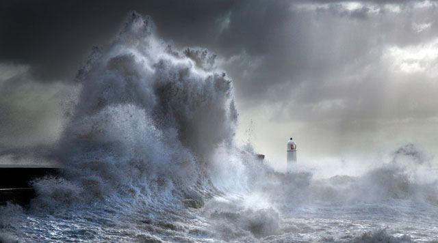 Stormy Porthcawl by Steve Garrington