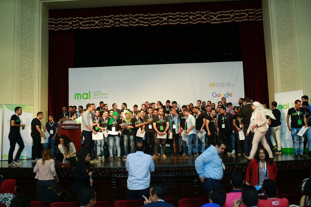 Twelve startups and mobile apps competed for financial support and mentorship to help their ideas off the ground