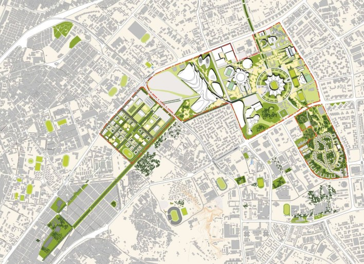 Cairo Olympic Park Master Plan