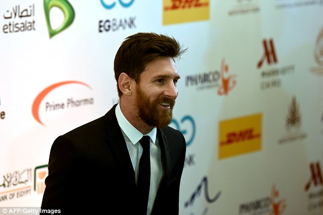 Lionel Messi trip to Egpyt to support Tour n' Cure initiative