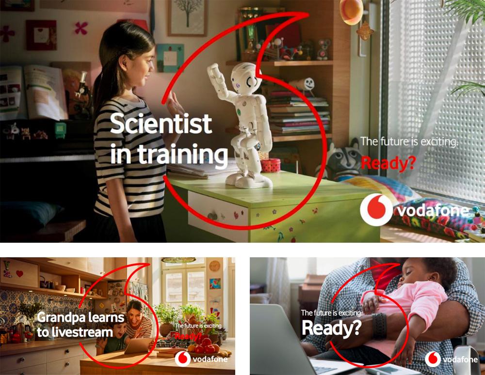 Vodafone Global new ad campaign