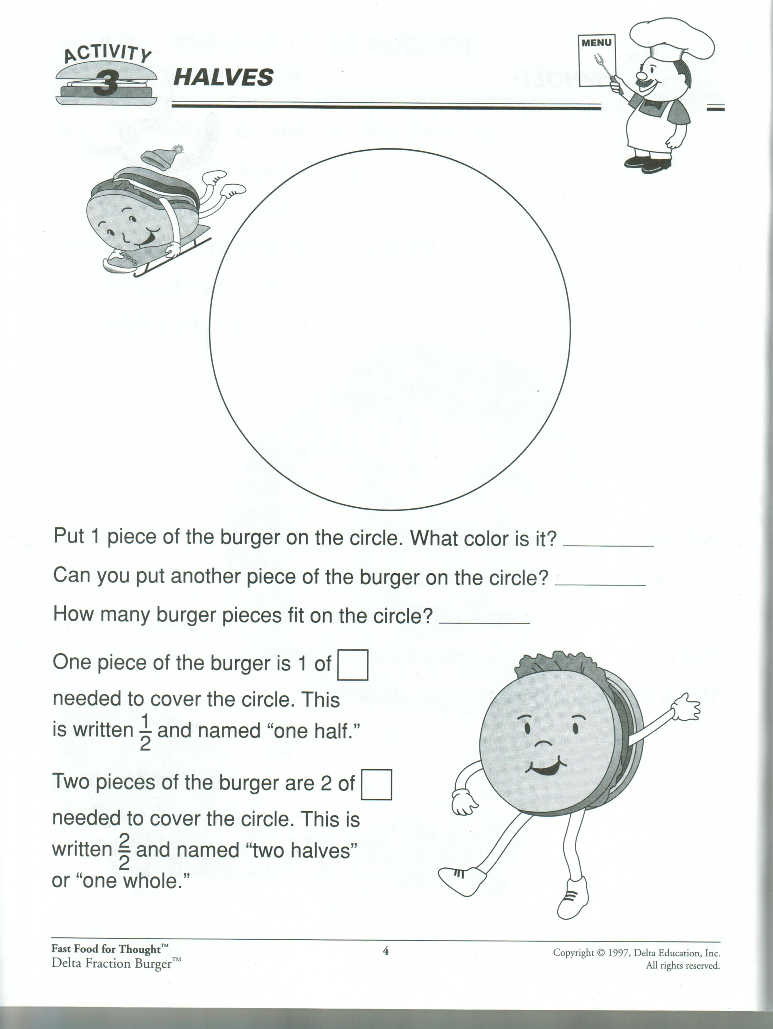 Fraction Burgers