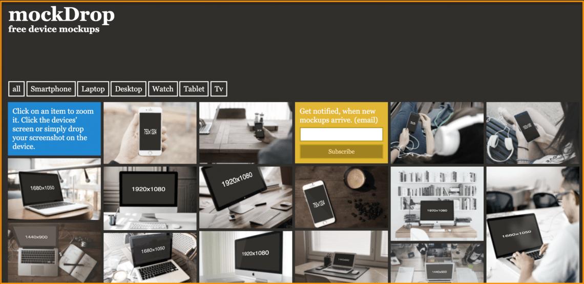 Download Mockup Screenshot Yellowimages