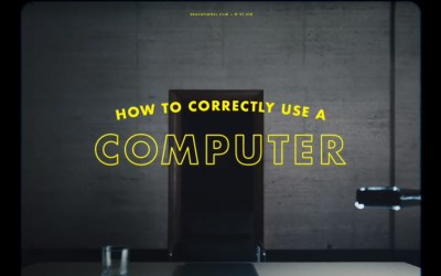 AdWatch: Apple | How to Correctly Use a Computer