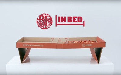 AdWatch: Boston Pizza | BP In Bed