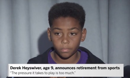 AdWatch: ESPN | 9-Year-Old Announces Retirement From Sports