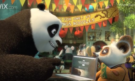 AdWatch: Wix | Kung Fu Panda Discovers the Power of Wix