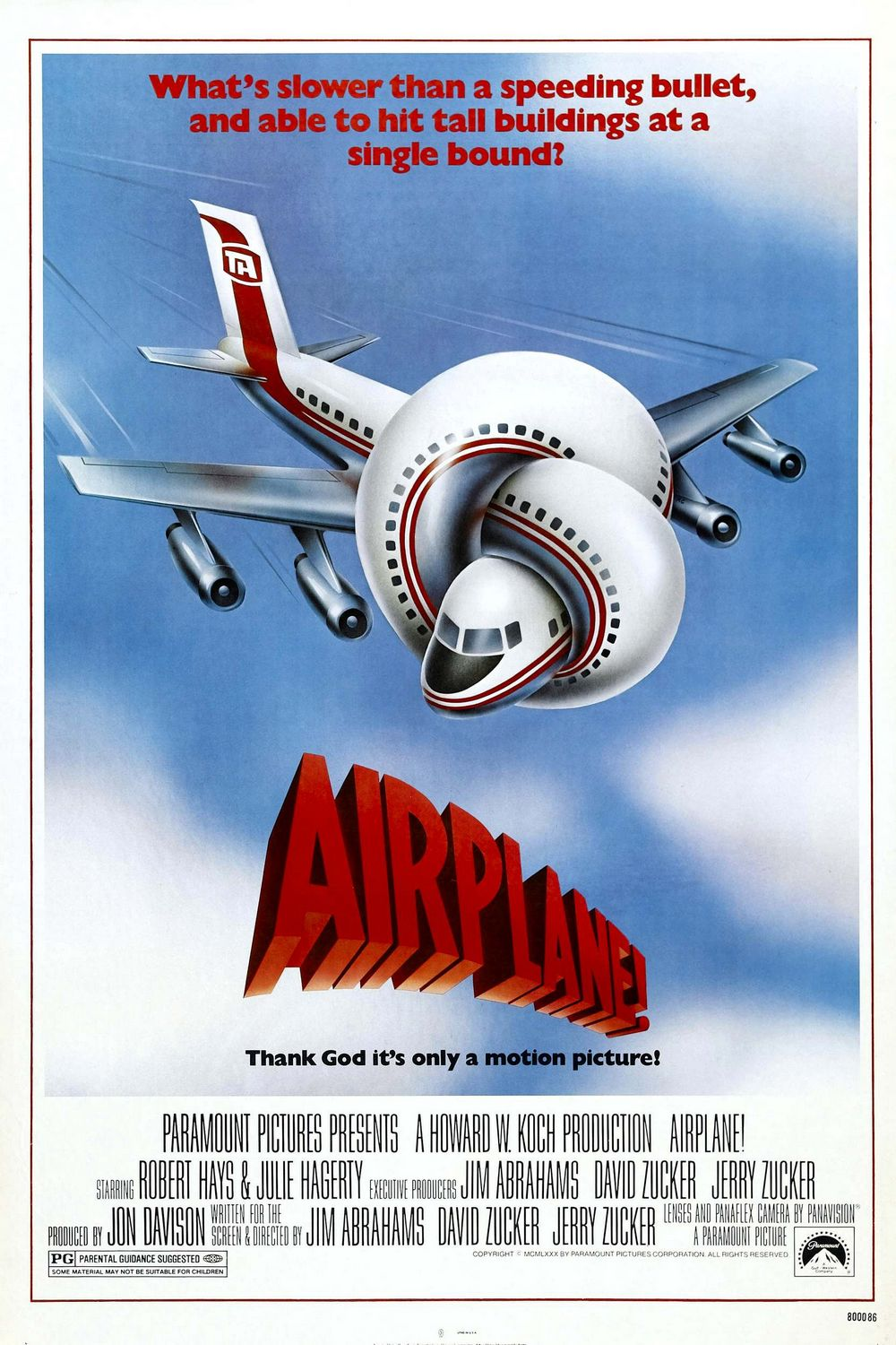 Airplane Movie Poster