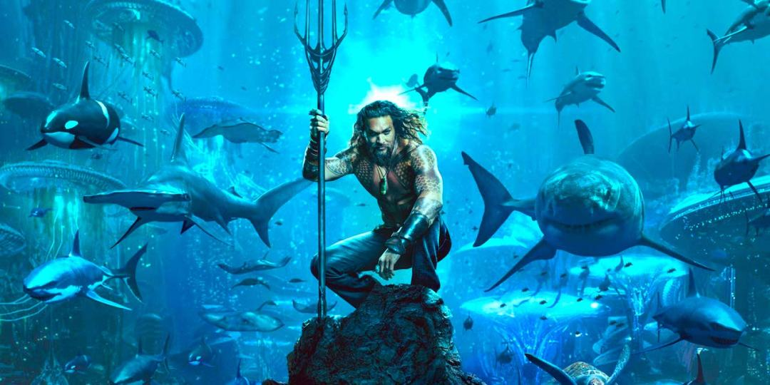 Aquaman Movie Marketing