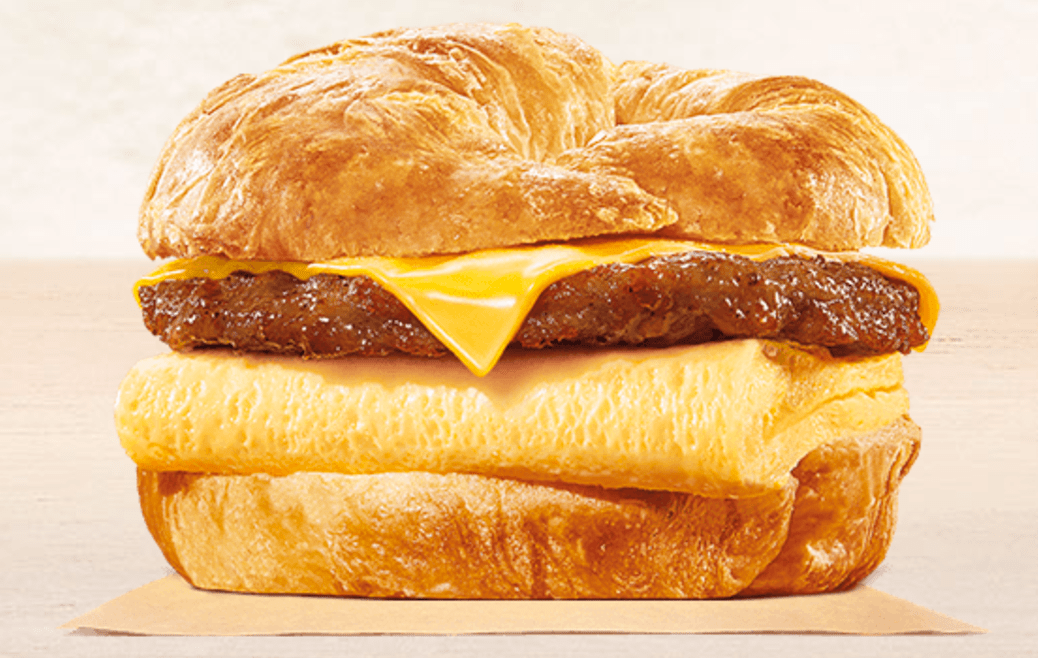 Burger King Croissan'wich