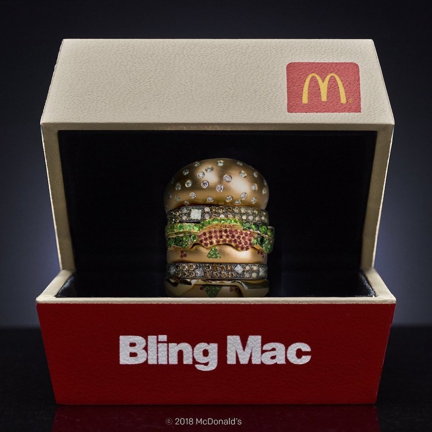 Bling Mac Ring