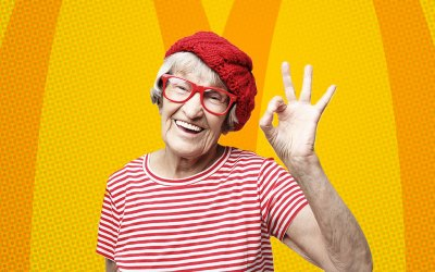 McDonald's In Sweden Brings Joy to Seniors With Happy Meals