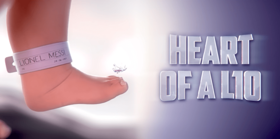 Gatorade Heart of a Lio shows the birth of Messi soccer greatness