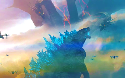 Godzilla Leaves a Mighty Mark on Movie Posters