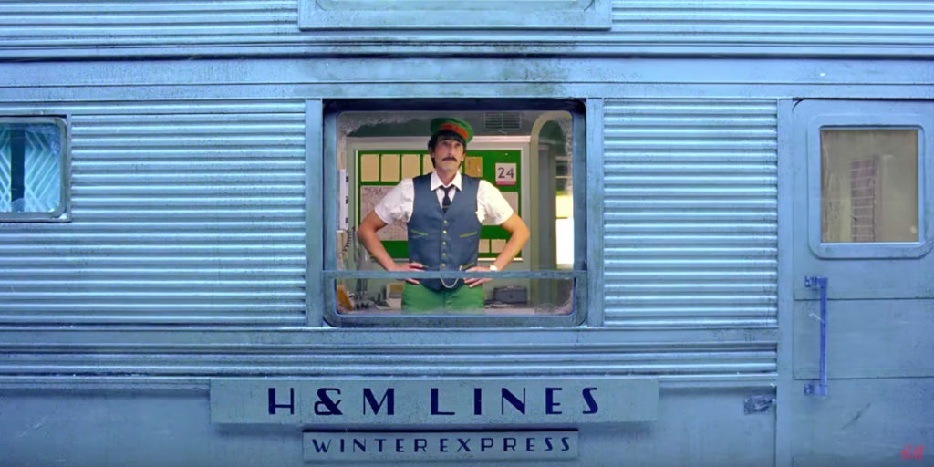 H&M Wes Anderson Commercial