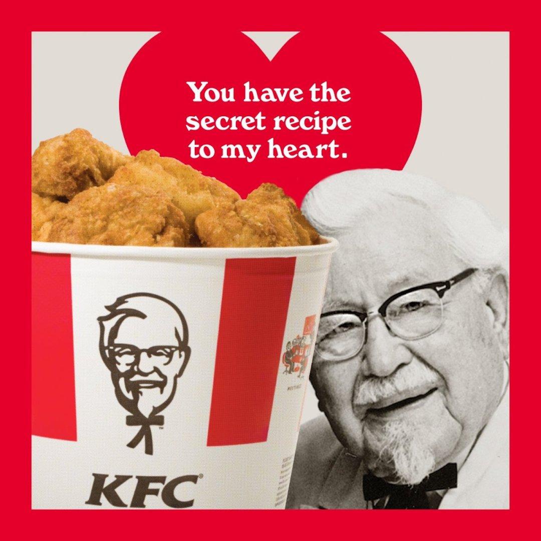 KFC Valentine Card
