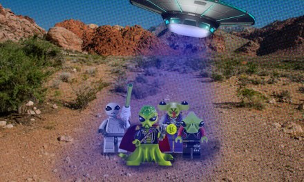 Lego Assures All Is Cool in Area 51
