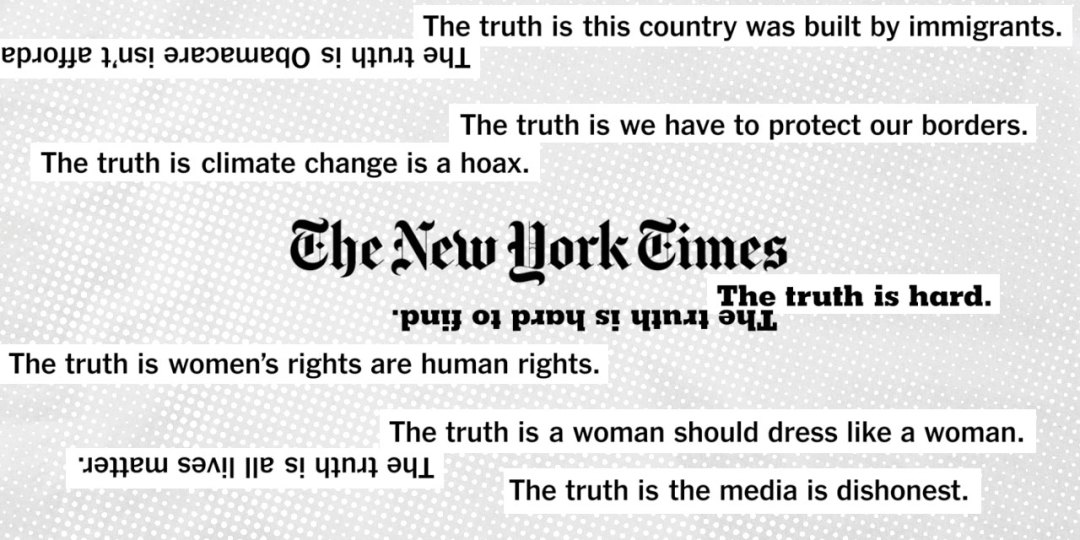 New York Times Truth Cannes Lions 2019