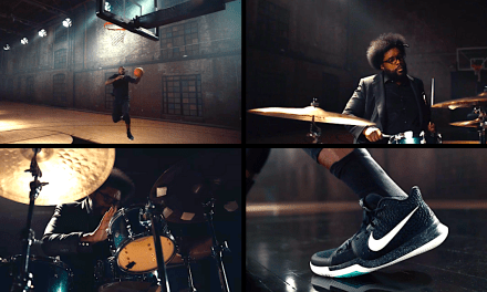Nike Dribbles to the Beat with Kyrie-Questlove Duet