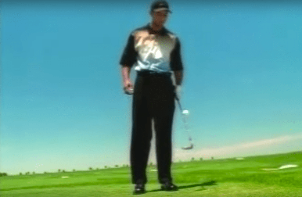 Nike Tiger Woods Juggling Golf Ball Commercial