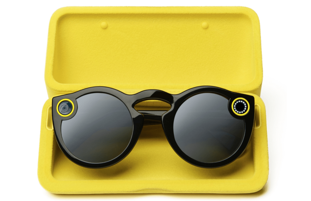Snap Spectacles in Charging Case