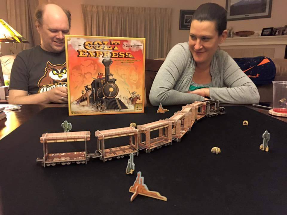 Tabletop Gaming – Colt Express