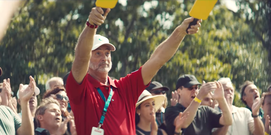TaylorMade ad takes comical look at driver's impact on course marshals