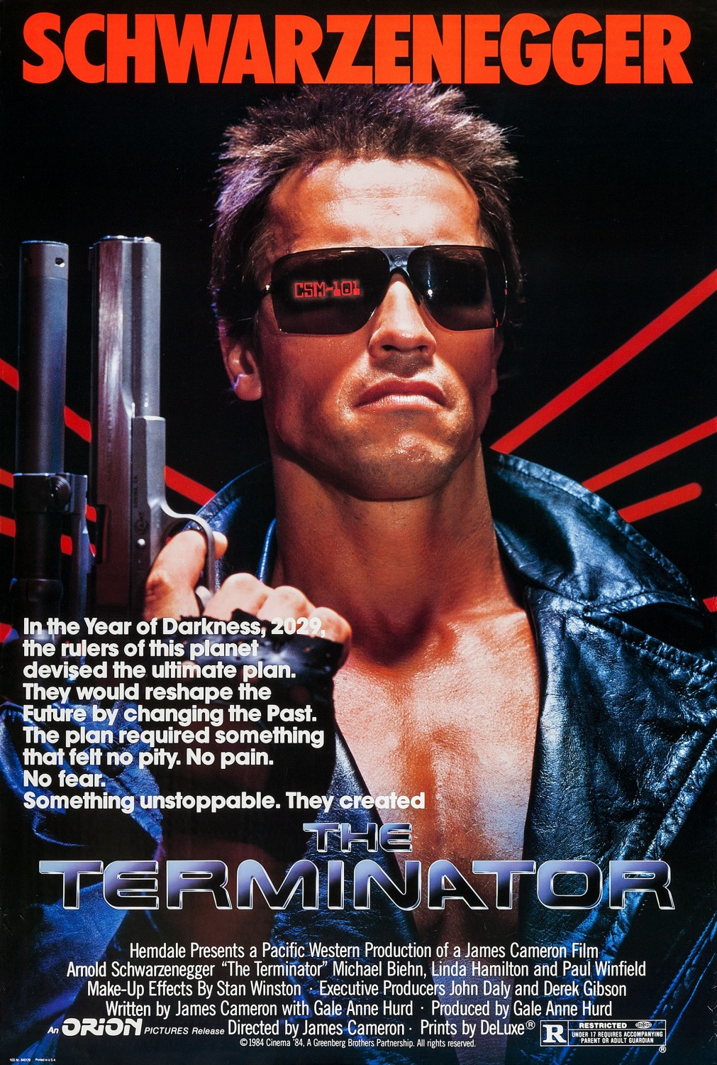 The Terminator Movie Poster