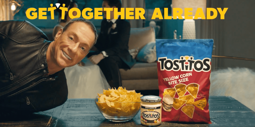 Tostitos Van Dame Get Together Already Commercial