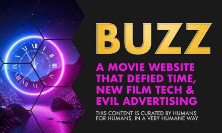 Weekly Buzz: A Movie Website That Defied Time, New Film Tech, & Evil Advertising