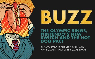 Weekly Buzz: The Olympic Rings, Nintendo's New Switch, and the Hot Dog Pact