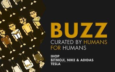 Weekly Buzz: IHOP, Bitmoji with Nike and Adidas, & Tesla