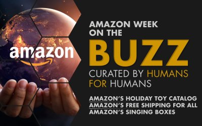 Weekly Buzz: Amazon's Toy Catalog, Free Shipping, & Singing Boxes