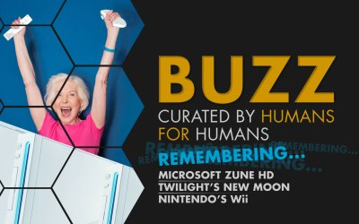 Weekly Buzz: Microsoft Zune, Twilight New Moon, & Nintendo's Wii