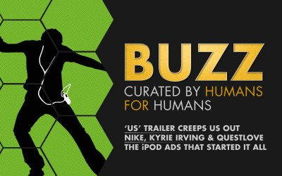 Weekly Buzz: Us Trailer, Nike with Kyrie & Questlove, & iPod Ads