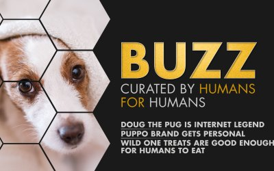 Weekly Buzz: Doug The Pug, Puppo Gets Personal, & Wild One Treats