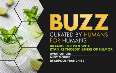 Weekly Buzz: Aviation Gin, Mint Mobile, & Deadpool
