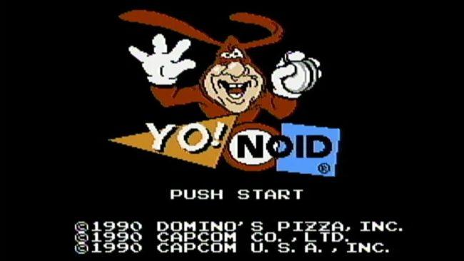 Yo Noid Video Game