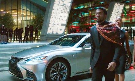 Black Panther Proves a Good Bet for Lexus Advertising Effort