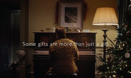 John Lewis Plays Your Song for the Holidays
