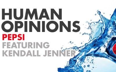 Human Opinions: Pepsi is Living Bolder
