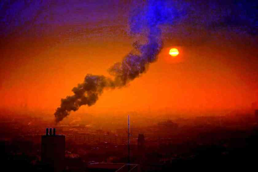 Smoke Air Pollution Air Sun Smog Sunset Pollution 3178047_result