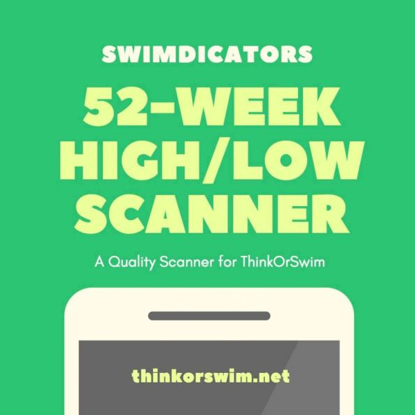 ThinkOrSwim 52 week high low scanner and watchlist