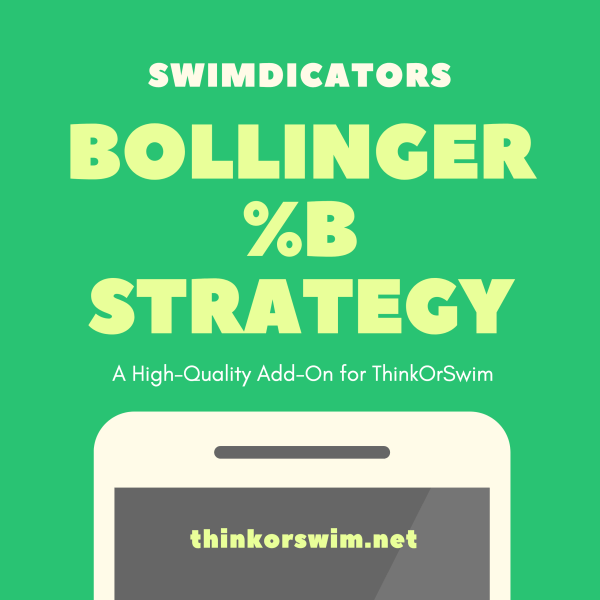 Bollinger Percent B %b Trading Strategy for ThinkOrSwim - cover