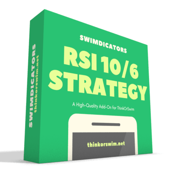 RSI 10-6 trading strategy for thinkorswim box