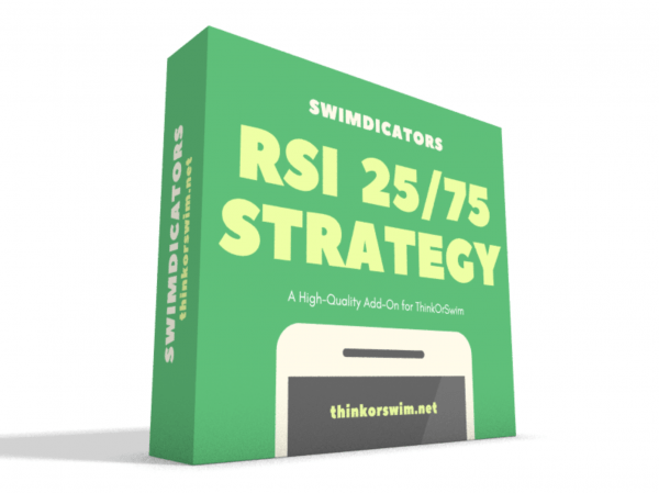 RSI 25-75 Trading Strategy for ThinkOrSwim box