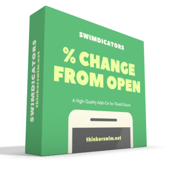 Percent change from open scan watchlist column for thinkorswim box
