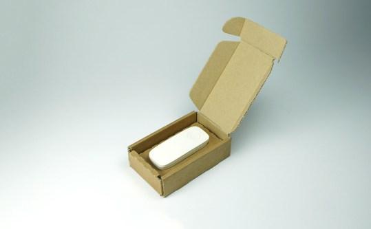Final packaging prototype.